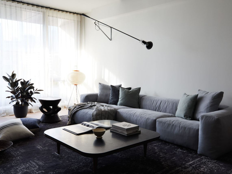 new minimalism living room